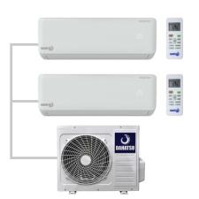 Dahatsu DHMULT-18/2-DHMULT  Мульти сплит система на 2 комнаты с внутренними блоками